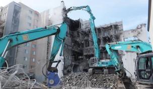旧函館グリーンホテル解体工事