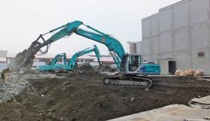 旧NTTビル解体工事A
