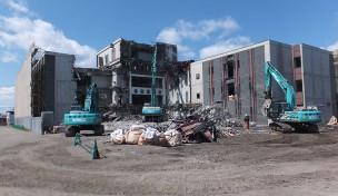 旧NTTビル解体工事B