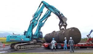 地下タンク(6000ℓ)撤去工事
