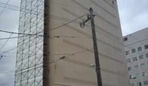 函館中央病院立体駐車場 解体工事