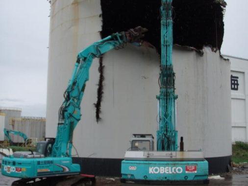 エクソンモービル・油槽所 解体工事