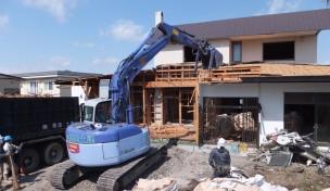 桔梗町・木造住宅解体工事