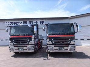 大型ダンプトラック