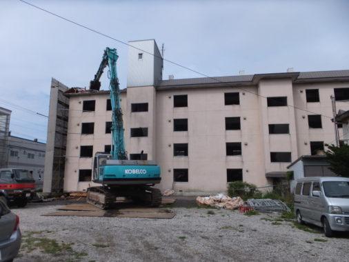 RC造4階建 宿舎解体工事