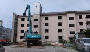 湯の浜町 コンクリート造4階建宿舎