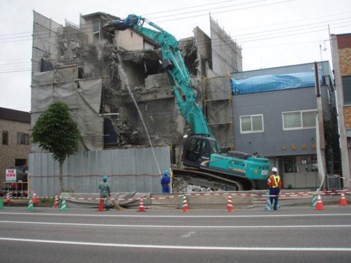 RC造4階建ホテル 解体工事